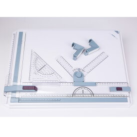 製図板 A3 サイズ 対応 定規 付 速く正確に作図ができる! 製図台 道具 製図用品 文房具 作図 事務用品