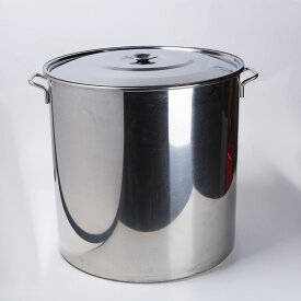 新品 寸胴鍋 98L 蓋付き ステンレス製 業務用 炊き出し イベント 祭事 行事 51cm