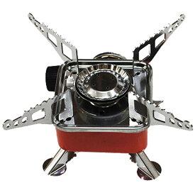 コンパクト ガスコンロ 持ち運び便利なミニサイズ 収納袋付き カセットボンベ用 【調理器具】