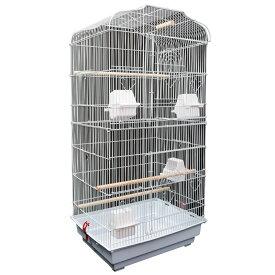 鳥かご バードゲージ 大型 鳥小屋 セキセイインコ 小鳥 可愛い ゲージ ペット用品 多数飼育 白 ホワイト 籠 pet ペットハウス シンプル