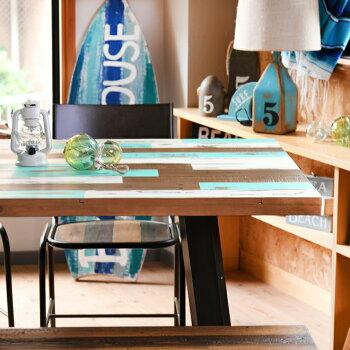 ダイニングテーブルボートハウスカラーDININGTABLEW160boathousecolorサーフ系西海岸風インテリアカリフォルニアスタイル
