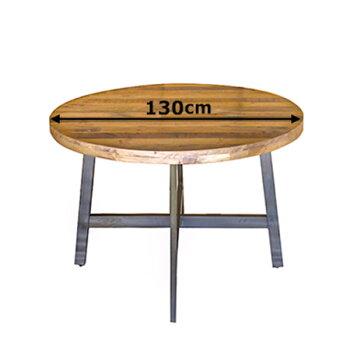 古材リサイクルウッド西海岸COASTALダイニングテーブル(木製リビングテーブル湘南スタイル食卓テーブルダイニングウッドテーブル)