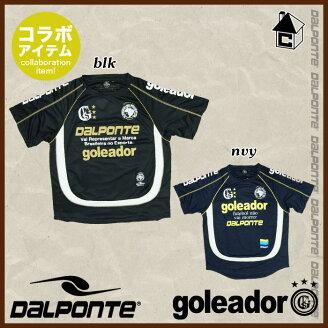 DalPonte【ダウポンチ】コラボプラクティスシャツ〈サッカーフットサル〉DPZGL01