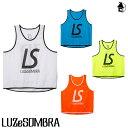 LUZ e SOMBRA/LUZeSOMBRA【ルースイソンブラ】LS NUMBERRING ビブス〈サッカー フットサル 〉F2011915