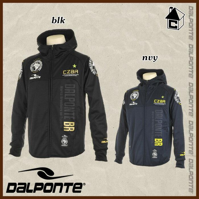 【SALE25%OFF】DalPonte【ダウポンチ】トレーニングフードジャケット防風加工〈セール サッカー フットサル ジャージ パーカー〉DPZ0152