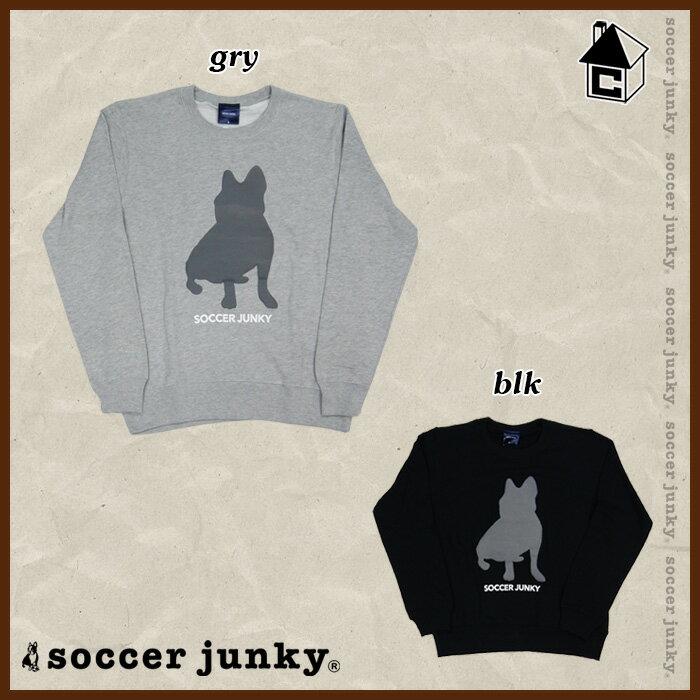 【SALE35%OFF】Soccer Junky【サッカージャンキー】NO9 クルー〈セール サッカー フットサル クルーパーカー スウェット パンディアーニく君〉SJ15557
