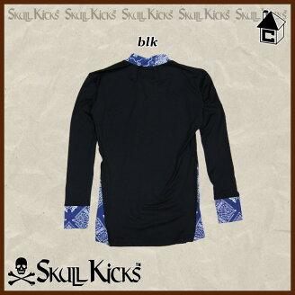 【SALE50%OFF】SKULLKICKS【スカルキックス】BANDANNAINNERTOP〈セールサッカーフットサルバンダナインナートップシャツ〉SK15AW023