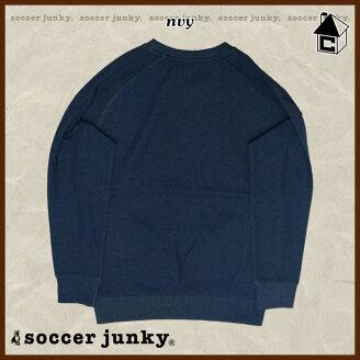 SoccerJunky【サッカージャンキー】サッカー旅の心得2(Wフェイスクルースウェット)〈サッカーフットサル〉SJ15073
