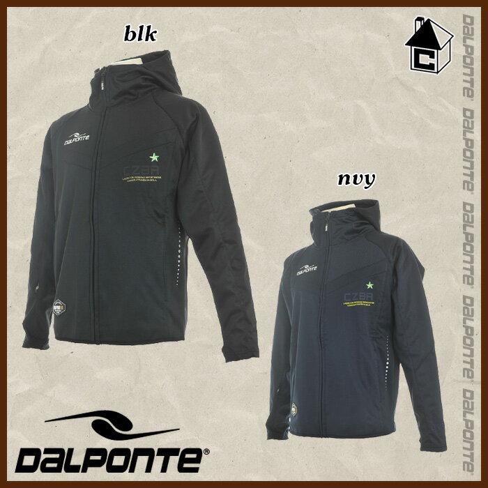 【SALE25%OFF】DalPonte【ダウポンチ】トレーニングフードジャケット〈セール サッカー フットサル ジャージ パーカー〉DPZ0187