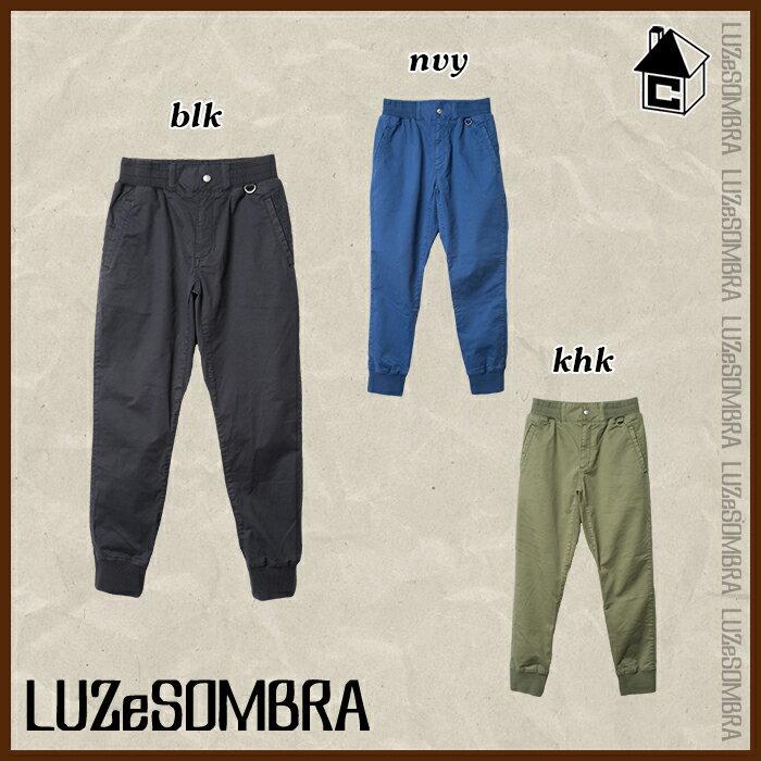 【SALE25%OFF】LUZ e SOMBRA/LUZeSOMBRA【ルースイソンブラ】RIB STRECH CHINO PANT〈セール リブ ストレッチ チノパンツ フットサル〉S1632209