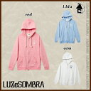 【SALE30%OFF】LUZ e SOMBRA/LUZeSOMBRA【ルースイソンブラ】SOFT FEEL ONE POINT FULL ZIP PARKA〈...