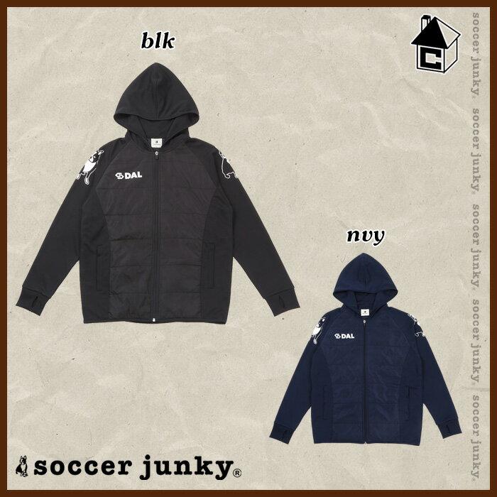 Soccer Junky【サッカージャンキー】ライトパデットジャケット〈中綿 ジャージ アウター パンディアーニ君 ティキタカ+1〉CP17531