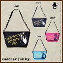 Soccer Junky【サッカージャンキー】ミニメッセンジャーバッグ〈おでかけパンディアーニ ショルダー ポーチ バック カバン〉CP17053