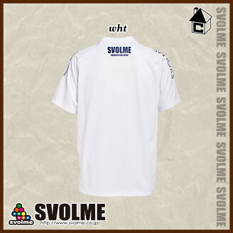 【SALE21%OFF】svolme【スボルメ】ロゴプラTシャツ〈セールサッカーフットサルゲームシャツプラクティスユニフォーム〉171-19000