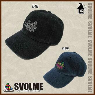 svolme【スボルメ】コットンキャップ〈サッカーフットサル帽子〉182-91321
