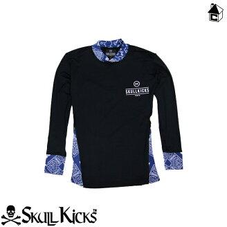 SKULLKICKS【スカルキックス】BANDANNASPLASHIRTS〈サッカーフットサルバンダナプラシャツゲームシャツユニフォーム〉SK15AW003