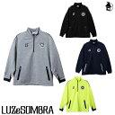 LUZ e SOMBRA/LUZeSOMBRA【ルースイソンブラ】P100 ACTIVE SWEAT CAM HALFZIP TOP〈フットサル サッカー スウェット …