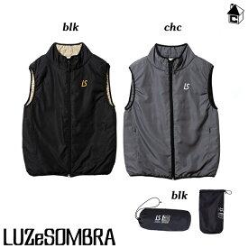 LUZ e SOMBRA/LUZeSOMBRA【ルースイソンブラ】inherit the Vest〈サッカー フットサル アウター ベスト ジャケット 中綿 ジップ〉F1911204