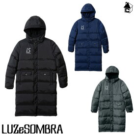 LUZ e SOMBRA/LUZeSOMBRA【ルースイソンブラ】BENCH COAT〈フットサル サッカー アウター ベンチコート 防寒着〉F1911211