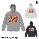 Soccer Junky【サッカージャンキー】プルパーカー〈サッカー フットサル スウェット Greatness〉SJ19622