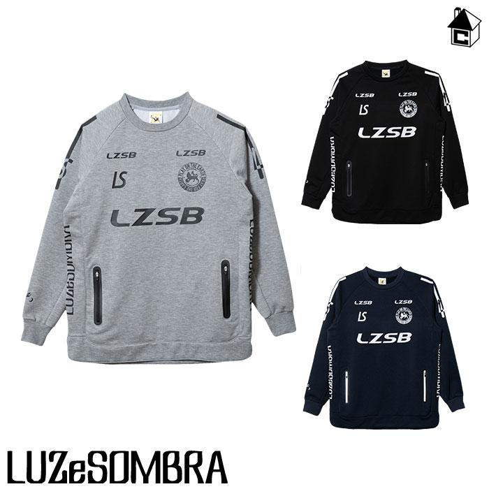LUZ e SOMBRA/LUZeSOMBRA【ルースイソンブラ】P100 ACTIVE SWEAT CREW TOP〈フットサル サッカー スウェット クルーネック ジャージ〉F1911105
