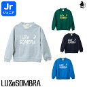 LUZ e SOMBRA/LUZeSOMBRA【ルースイソンブラ】Jr BUSTA CREW SWEAT TOP〈サッカー フットサル スウェット ジュニア 子供用〉F1922108