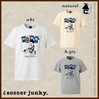 SoccerJunky【サッカージャンキー】天才三羽カラスドライTシャツ〈メッシスアレスネイマールプラTシャツバルセロナバルサ〉SJ17113