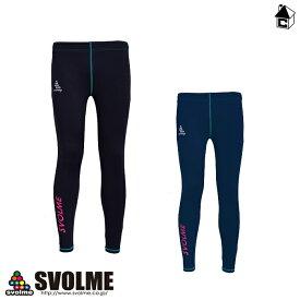 【SALE36%OFF】SVOLME RUNNING【スボルメ ランニング】裏起毛ロングスパッツ〈セール マラソン ジョギング スポーツ トレーニング〉163-99103
