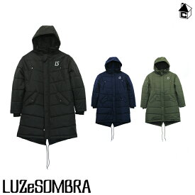 LUZ e SOMBRA/LUZeSOMBRA【ルースイソンブラ】GO OUT LONG COAT〈フットサル サッカー ジャケット アウター ベンチコート ロングコート〉F2011207