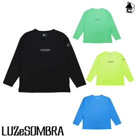 LUZ e SOMBRA/LUZeSOMBRA【ルースイソンブラ】TWM BIG SILHOUETTE L/S PRA-TEE〈サッカー フットサル ユニフォーム プラシャツ プラT〉L1211001