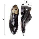 大きいサイズキングサイズビジネスシューズ革靴本革ブラックブラウンストレートチップメダリオンCENTiMETER4