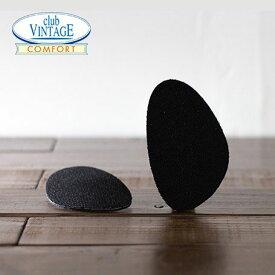 ブラック CLUB VINTAGE / フィットフォームクッション ハーフサイズ 3mm インソール 中敷