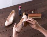 プロ・ホースブラシスムース革ホコリ落し、毛並み調整【シューケア革靴手入れ】R&D
