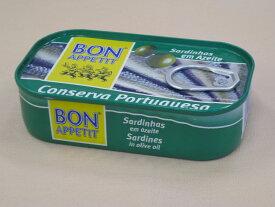 ボナペティ ポルトガル産オイルサーディン10個セット(オリーブオイル漬)
