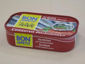 ボナペティ ポルトガル産オイルサーディン30個セット(スパイシートマトソース煮)【業務用】