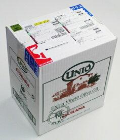 UNIO ウニオ エクストラバージンオリーブオイル(500ml) 12本セット【業務用】10%OFF