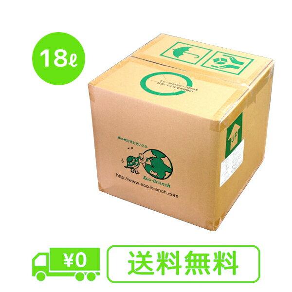植物油由来成分からできた濃縮自然派洗剤「えがおの力(旧松の力)」18L【お徳用】