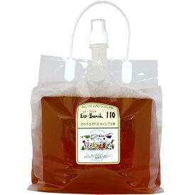 「Eco-Branch110 エコ・ブランチ110 4L 詰替タイプ」エコブランチ 食品並みの安全性で手肌にやさしいミラクル洗剤!