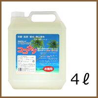 肌と自然環境にやさしいオーガニック洗剤「ココナツ洗剤」4L