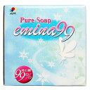 万能 粉石鹸 Pure Soap emina99 1kg 【抗酸化溶液活用製品】粉石けん 洗剤 洗濯 食器洗い 掃除 洗車