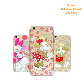 【Disney / ディズニー】iPhone6 / iPhone6s / 6PLUS / iPhone6sPLUS 対応 Disney Hologram lnmold jelly Case【アイフォン6s ケース カバー ミッキー ミニー ドナルド 】