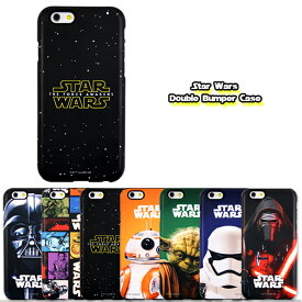 Star Wars / スターウォーズ iPhone6 iPhone6s / 6PLUS 6sPlus 対応 Star Wars Double Bumper Case iphone6plusケース アイフォン6 アイフォン6プラス ダースベイダー ストーム・トルーパー BB-8 カイロ・レン