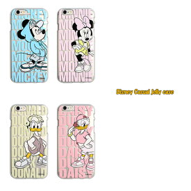 Disney / ディズニー iPhone6 iPhone6s / iPhone6Plus 6s Plus 対応 Disney Casual jelly case iphone 6s ケース カバー plus disney ミッキー ミニー ドナルド デイジー アイフォン6 アイフォン6s