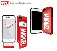 【MARVEL/Avengers/アベンジャーズ】iPhone8/iPhone8Plus/iPhone7/iPhone7Plus/66s対応MARVELMarvelLOGOEYESLIDEGLOWCASE【マーベルiphone7ケースアメコミアイアンマンキャプテンアメリカiphone7plusiPhone8ケースiphone8plusケース】