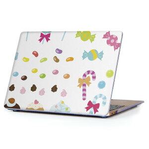MacBook Air 13inch 2018 専用 デザインハードケース A1932 Apple マックブック エア ノートパソコン カバー ケース ハードカバー クリア 透明 アクセサリー 保護 009260 カラフル デザート イラスト