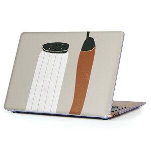 MacBook Air 13inch 2018 専用 デザインハードケース A1932 Apple マックブック エア ノートパソコン カバー ケース ハードカバー クリア 透明 アクセサリー 保護 015738 塩 とうがらし 食べもの