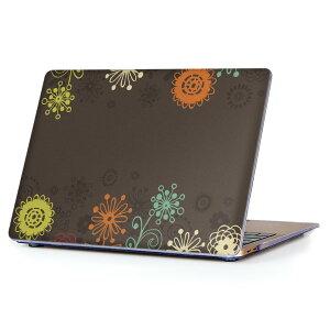 MacBook Air 13inch 2010 〜 2017 専用 デザインハードケース A1466 A1369 Apple マックブック エア ノートパソコン カバー ケース ハードカバー クリア 透明 006071 花 フラワー イラスト