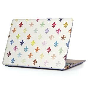 MacBook Air 13inch 2010 〜 2017 専用 デザインハードケース A1466 A1369 Apple マックブック エア ノートパソコン カバー ケース ハードカバー クリア 透明 007898 カラフル 模様 白 ホワイト