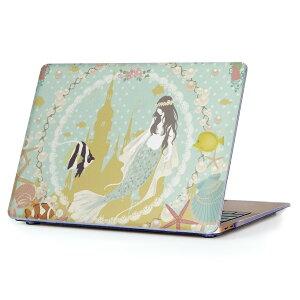 MacBook Air 13inch 2010  2017 専用 デザインハードケース A1466 A1369 Apple マックブック エア ノートパソコン カバー ケース ハードカバー クリア 透明 009100 童話モチーフ イラスト