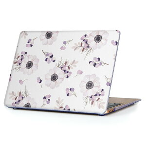 MacBook Air 13inch 2010  2017 専用 デザインハードケース A1466 A1369 Apple マックブック エア ノートパソコン カバー ケース ハードカバー クリア 透明 012585 花 花柄 かわいい